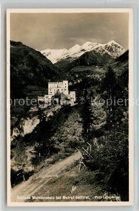 AK / Ansichtskarte Matrei Osttirol Schloss Weissenstein Alpen Kat. Matrei in Osttirol