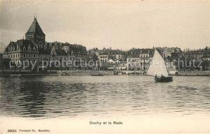 AK / Ansichtskarte Ouchy et la Rade Kat. Lausanne