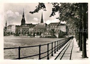 AK / Ansichtskarte Hamburg Binnenalster Jungfernstieg Kat. Hamburg