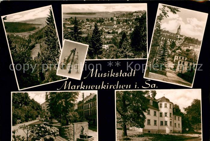 AK / Ansichtskarte Markneukirchen Musikstadt Panorama Kat. Markneukirchen