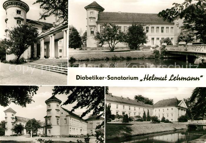 AK / Ansichtskarte Rheinsberg Diabetiker Sanatorium Helmut Lehmann Kat. Rheinsberg
