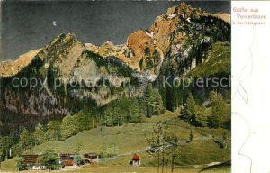 AK / Ansichtskarte Vorderbrand Alpenwirtschaft Kat. Berchtesgaden