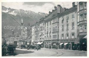 AK / Ansichtskarte Innsbruck Konditorei Cafe Schindler Maria Theresien Strasse Kat. Innsbruck