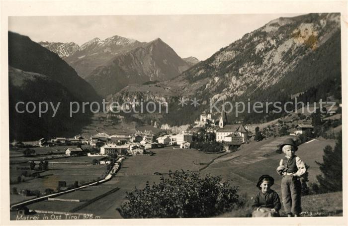 AK / Ansichtskarte Matrei Osttirol Panorama Kat. Matrei in Osttirol