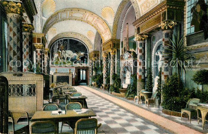 AK / Ansichtskarte Wiesbaden Kurhaus Muschelsaal Kat. Wiesbaden