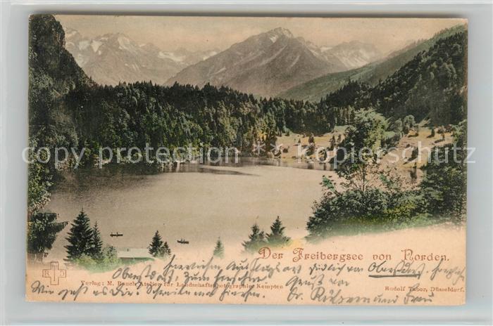 AK / Ansichtskarte Freibergsee Panorama Kat. Oberstdorf