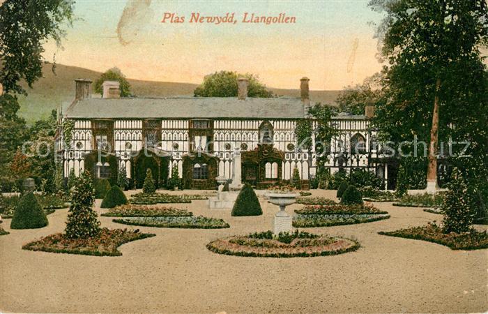 AK / Ansichtskarte Llangollen Plas Newydd Kat. Denbighshire