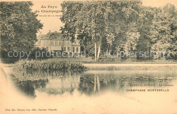 AK / Ansichtskarte Mareuil sur Ay Chateau Vallee de la Marne Kat. Mareuil sur Ay