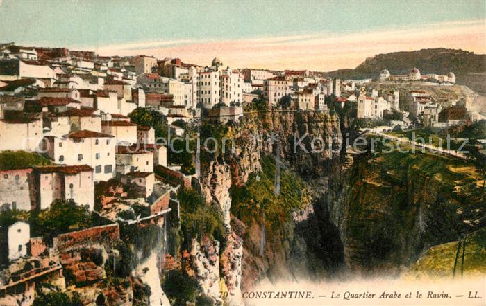 AK / Ansichtskarte Constantine Quartier Arabe et le Ravin Kat. Algerien