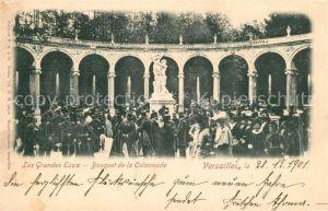 AK / Ansichtskarte Versailles Yvelines Les Grandes Eaux Bosquet de la Colonnade Kat. Versailles