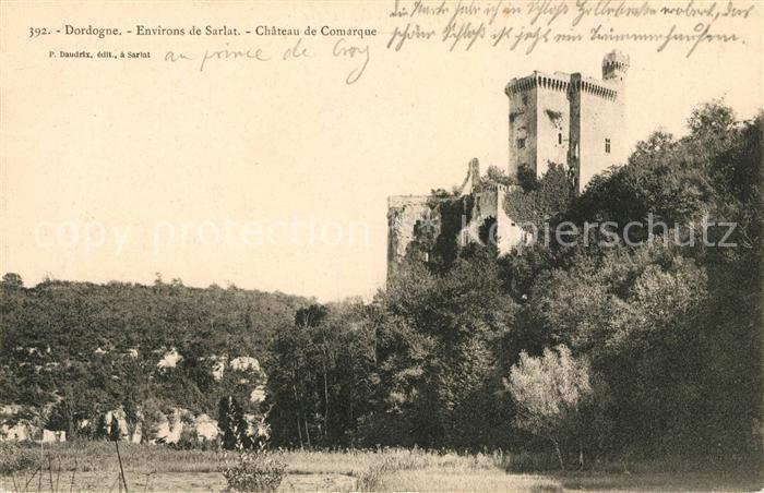 AK / Ansichtskarte Dordogne Chateau de Comarque Kat. Region
