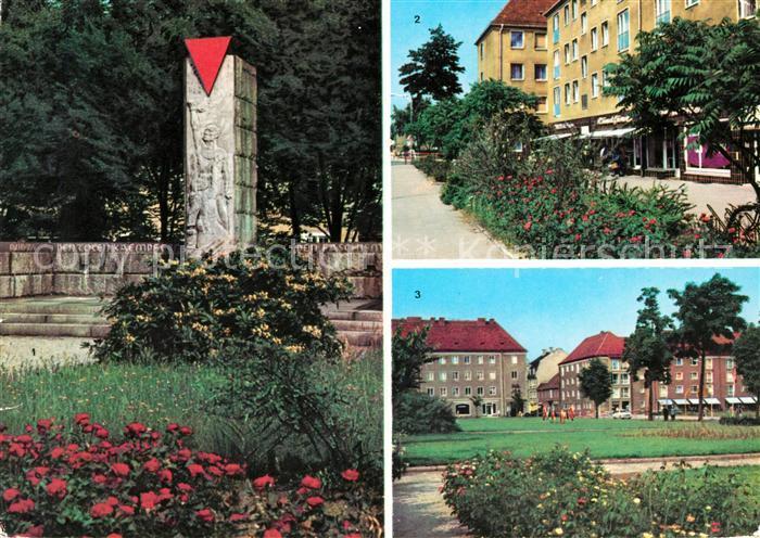 AK / Ansichtskarte Niesky VVN Ehrenmal Strasse der Befreiung Zinssendorfplatz Kat. Niesky