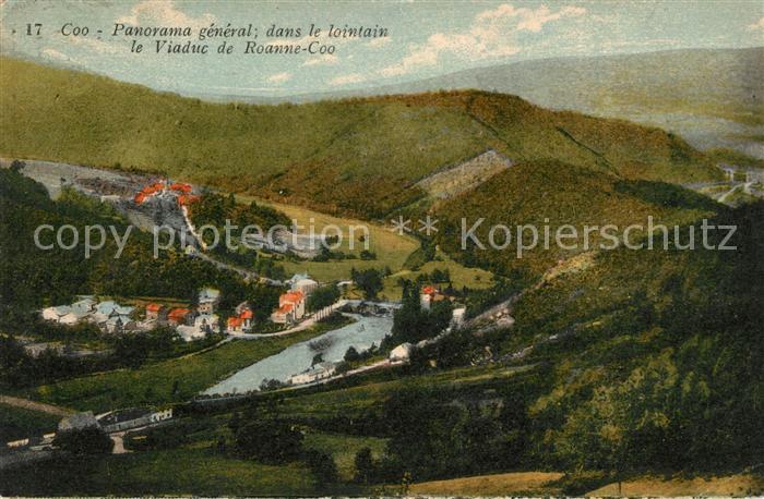 AK / Ansichtskarte Coo Stavelot Panorama