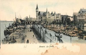 AK / Ansichtskarte Anvers Antwerpen Le Steen Kat.
