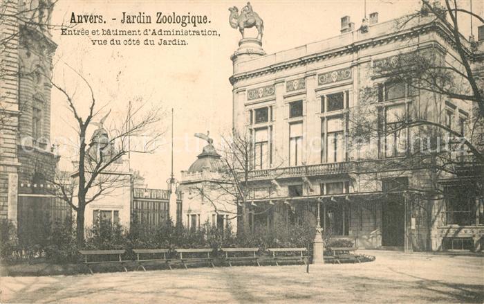 AK / Ansichtskarte Anvers Antwerpen Zoologischer Garten Kat.