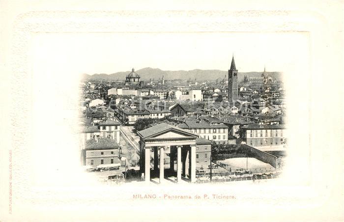 AK / Ansichtskarte Milano Panorama Porte Ticinese Kat. Italien Nr ...