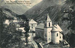 AK / Ansichtskarte Dauphine Vallee du Veneon St Christophe Olsans Fetoules Kat. Grenoble