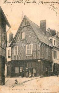 AK / Ansichtskarte Saint Aignan Loir et Cher Vieille Maison XIV St Ecle Kat. Saint Aignan