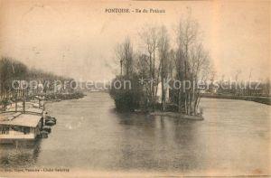 AK / Ansichtskarte Pontoise  Val d Oise Ile du Pothuis Kat. Pontoise