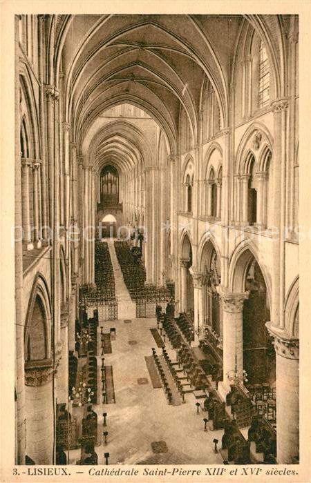 AK / Ansichtskarte Lisieux Cathedrale Saint Pierre XIII XVI  Kat. Lisieux