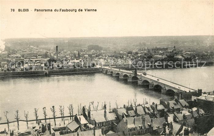 AK / Ansichtskarte Blois Loir et Cher Panorama Faubourg de Vienne Kat. Blois