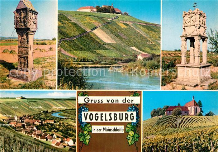 AK / Ansichtskarte Volkach Vogelsburg  Kat. Volkach Main