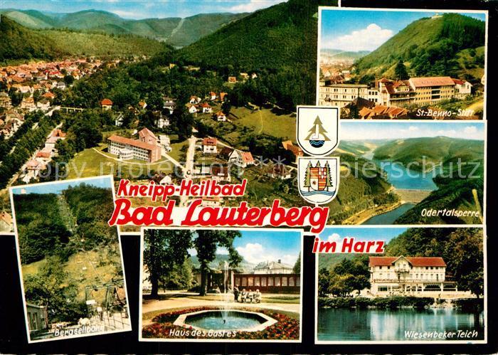 AK / Ansichtskarte Bad Lauterberg St. Benno Stift Odertalsperre Haus des Gastes  Kat. Bad Lauterberg im Harz
