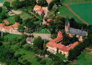 AK / Ansichtskarte Lage Rieste Pfarrkirche Wallfahrtskirche des Kreuzes zu Lage Fliegeraufnahme