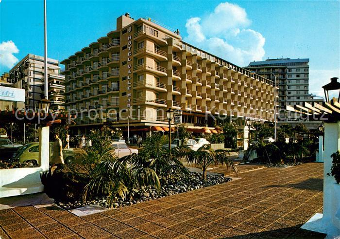 Ak ansichtskarte puerto de la cruz terrassen hotel valle mar kat puerto de la cruz tenerife - Hotel vallemar puerto de la cruz ...