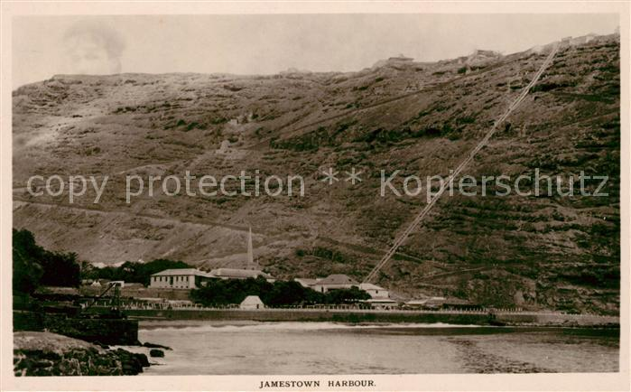 AK / Ansichtskarte Jamestown Harbour View from seaside