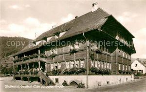 AK / Ansichtskarte Glottertal Gasthof Zum goldenen Engel Kat. Glottertal Schwarzwald