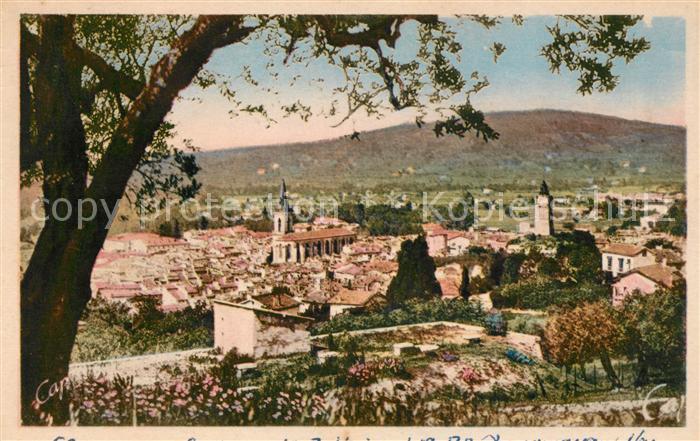 AK / Ansichtskarte Draguignan Panorama Kat. Draguignan