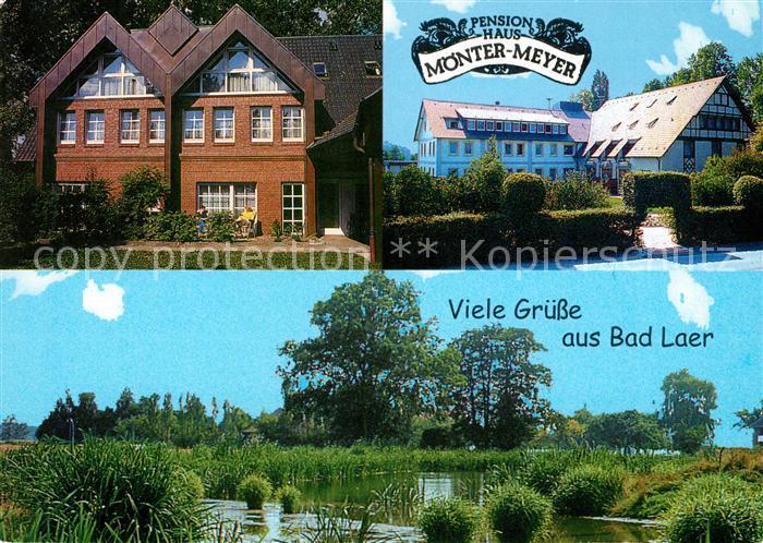AK / Ansichtskarte Bad Laer Pension Haus Moenter Meyer Landschaftspanorama Kat. Bad Laer
