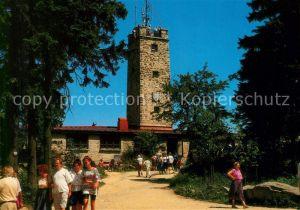 AK / Ansichtskarte Warmensteinach Berggaststaette Asenturm am Ochsenkopf Kat. Warmensteinach Fichtelgebirge
