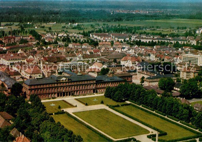 AK / Ansichtskarte Rastatt Schloss Fliegeraufnahme Kat. Rastatt