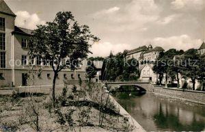 AK / Ansichtskarte Schleiden Eifel Schloss Partie an der Olef  Kat. Schleiden