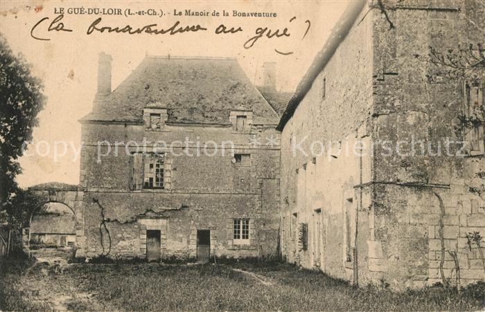AK / Ansichtskarte Le Gue de la Chaine Manoir de la Bonaventure Kat. Le Gue de la Chaine