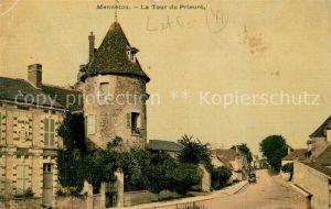 AK / Ansichtskarte Mennetou sur Cher Turm Prieure Kat. Mennetou sur Cher