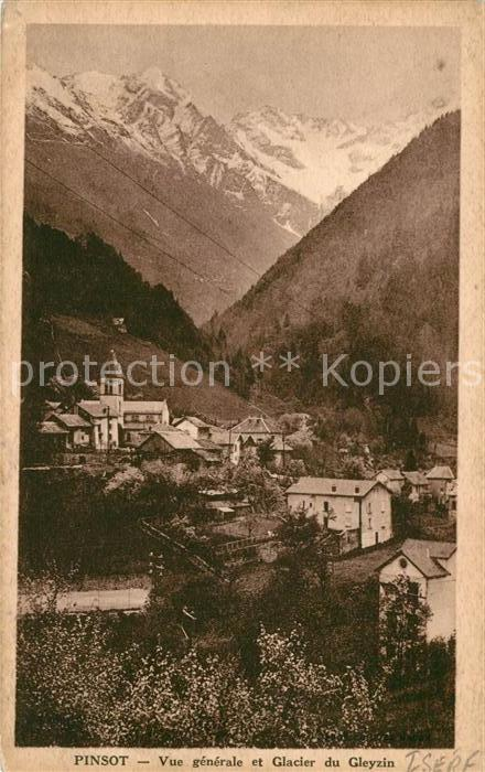 AK / Ansichtskarte Pinsot Glacier Gleyzin  Kat. Pinsot