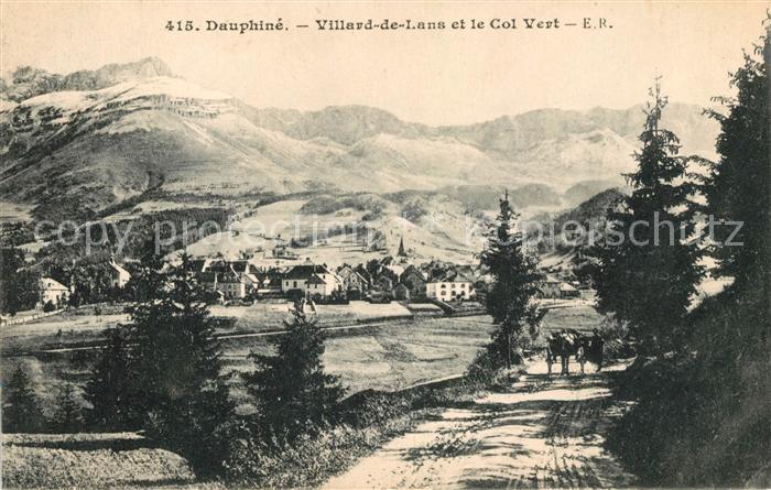 AK / Ansichtskarte Villard de Lans Col Vert Kat. Villard de Lans