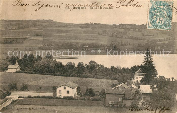 AK / Ansichtskarte Paladru See Panorama Kat. Paladru