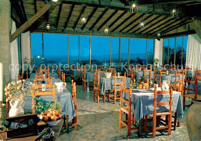AK / Ansichtskarte San Gimignano Hotel Bel Soggiorno Ristorante