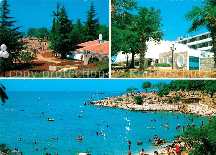 AK / Ansichtskarte Porec Plava Laguna Hotel Lotos Bucht Strand Kat. Kroatien