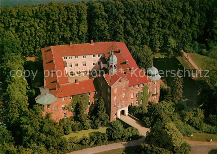 AK / Ansichtskarte Eutin Schloss Rosenstadt Holsteinische Schweiz Fliegeraufnahme Kat. Eutin