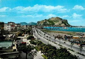 AK / Ansichtskarte Palermo Sicilia Foro Italico e Monte Pellegrino Kat. Palermo