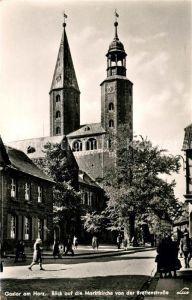 AK / Ansichtskarte Goslar Marktkirche Breitenstrasse Kat. Goslar