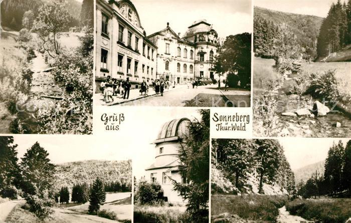 AK / Ansichtskarte Sonneberg Thueringen  Kat. Sonneberg