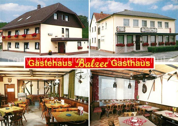 AK / Ansichtskarte Schroeck Marburg Gaestehaus Balzer Kat. Marburg