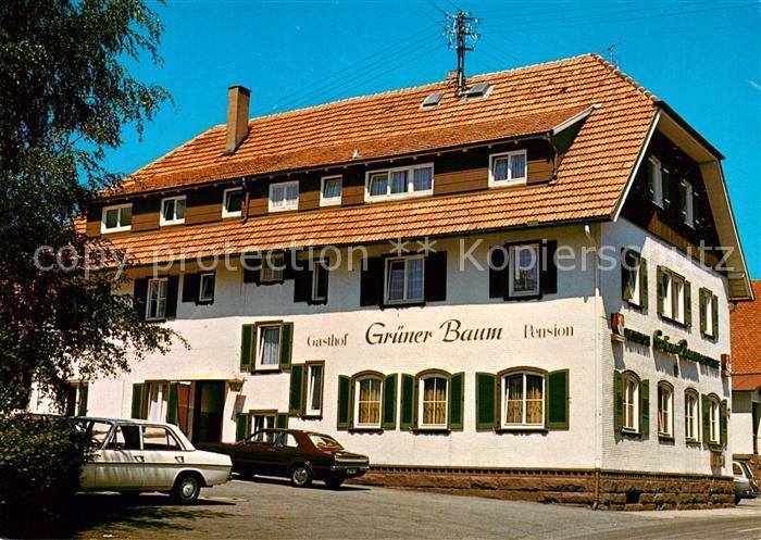 AK / Ansichtskarte Aichelberg Calw Gasthof Pension Gruener Baum Kat. Bad Wildbad