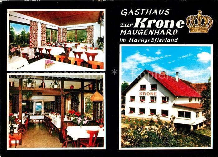 AK / Ansichtskarte Maugenhard Gasthaus zur Krone Kat. Efringen Kirchen